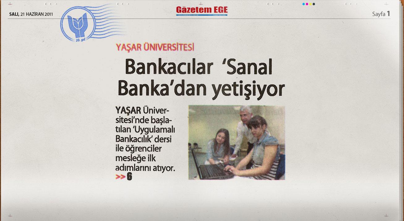 Yaşar'dan Türkiye'de Bir İlk: Sanal Banka
